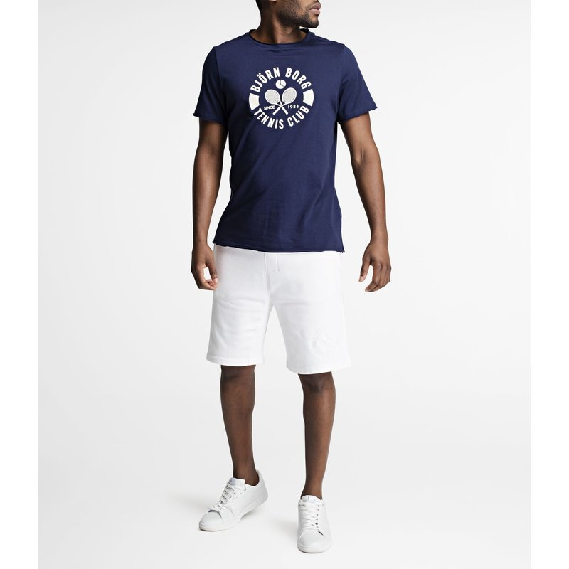 Summer Tennis Club Tee Peacoat