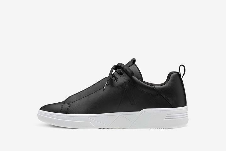 Uniklass Leather S-C18 Zwart / Wit