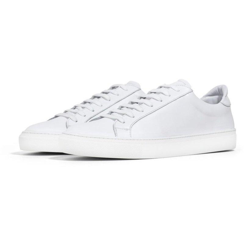 Type - White Leather