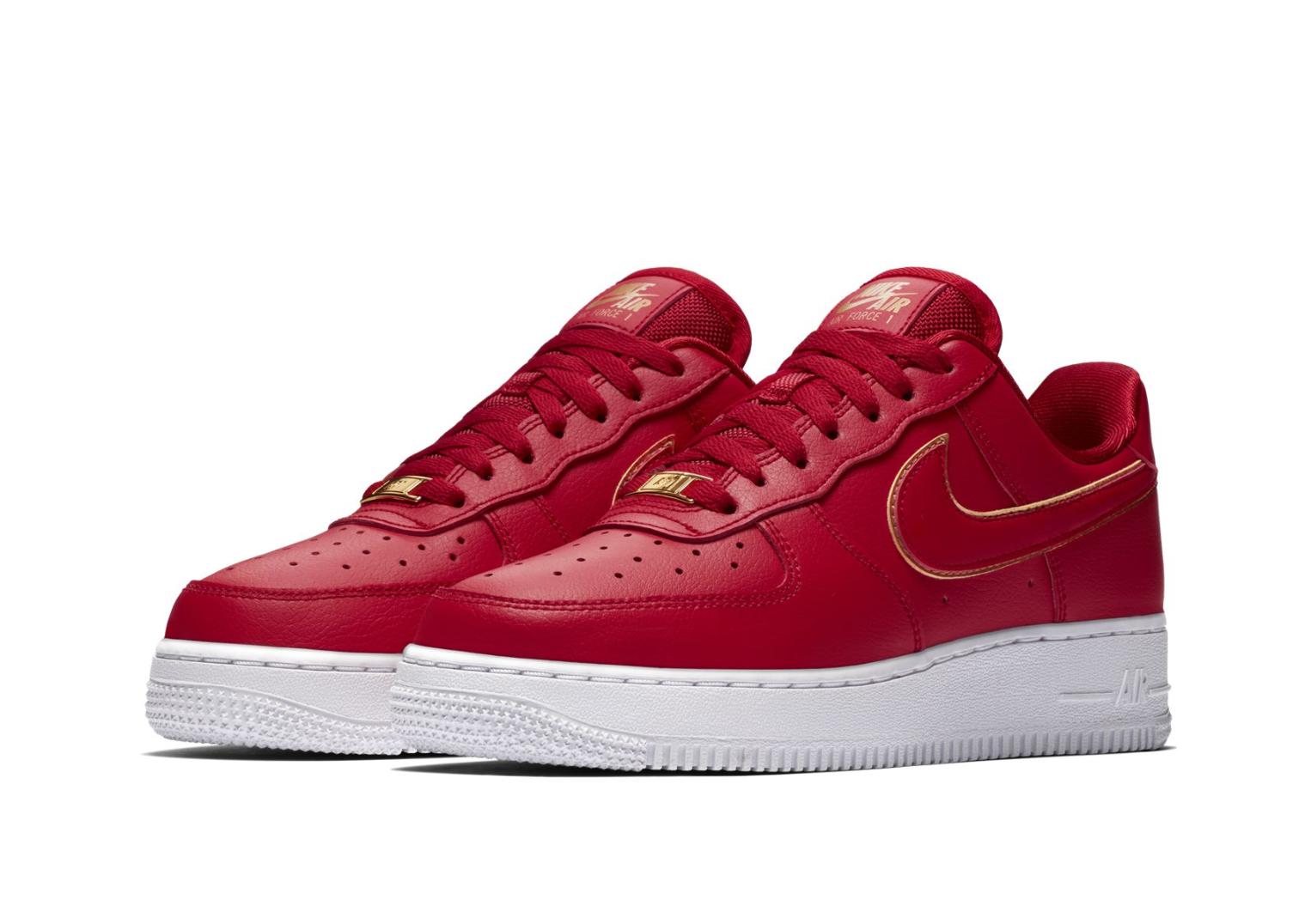 Nike WMNS Air Force 1 '07 Essential Rood Dames Sneaker