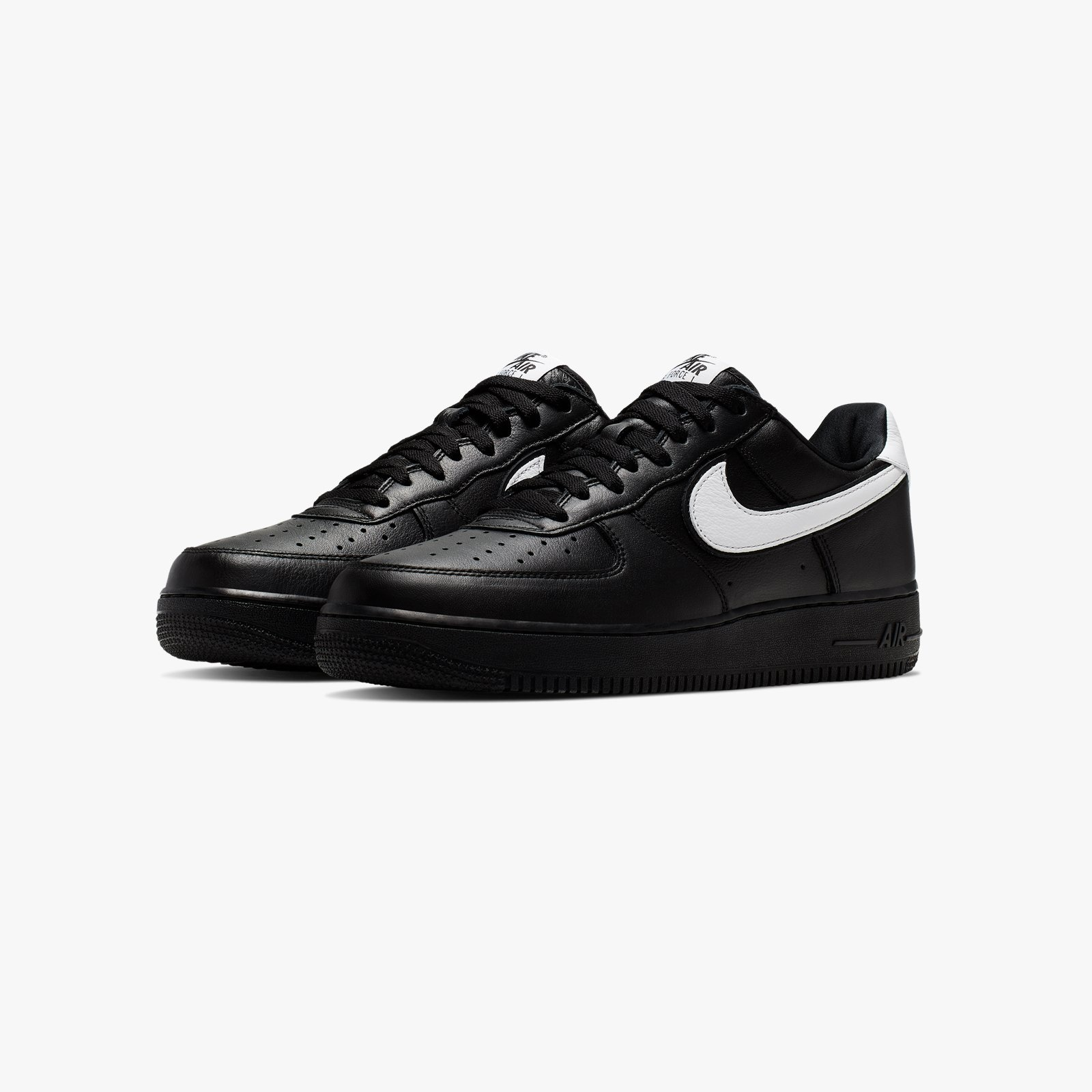 Nike Air Force 1 Low Retro QS Zwart / Wit - Dames Sneaker ...