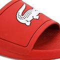 Croco Slide Rood / Wit