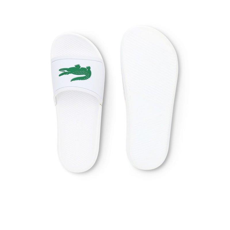 Croco Slide Wit / Groen