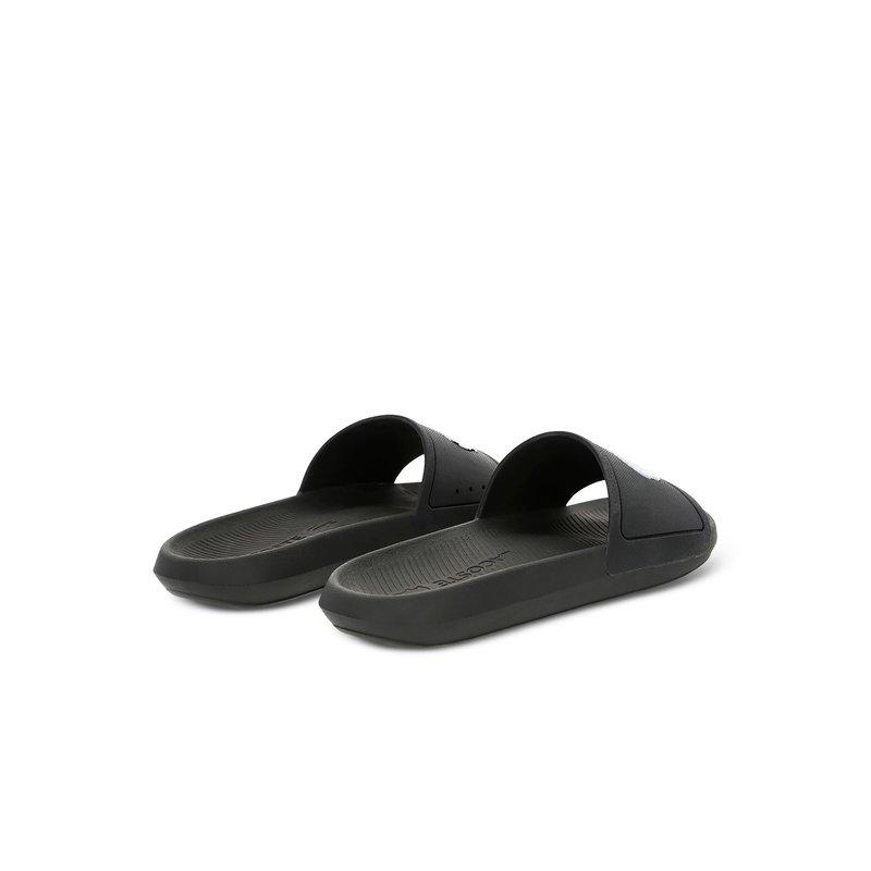 Croco Slide Zwart / Wit