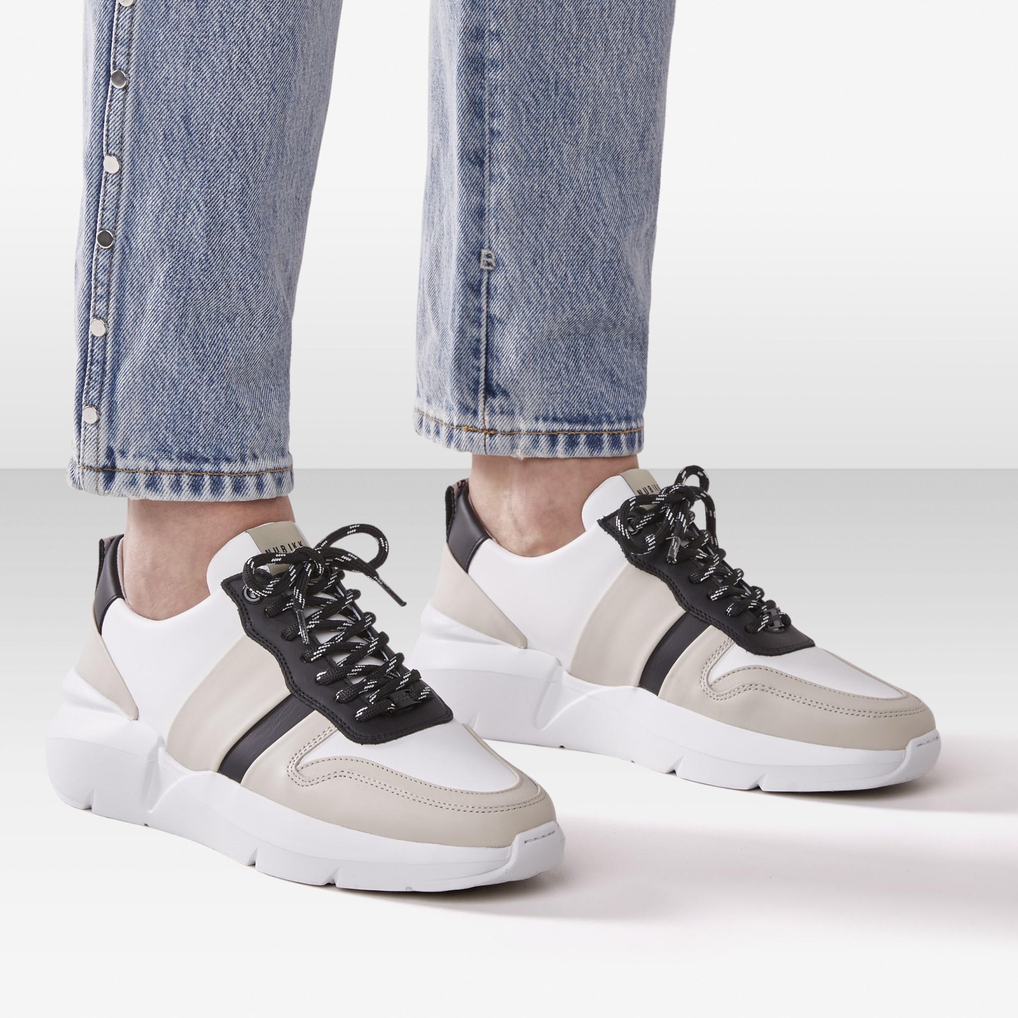 Nubikk LUCY MAY Multi Wit Dames Sneaker 21038100 30FC