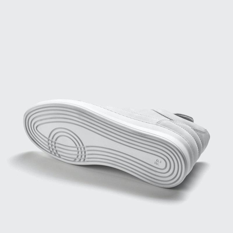 Low Top Plain Nubuck White
