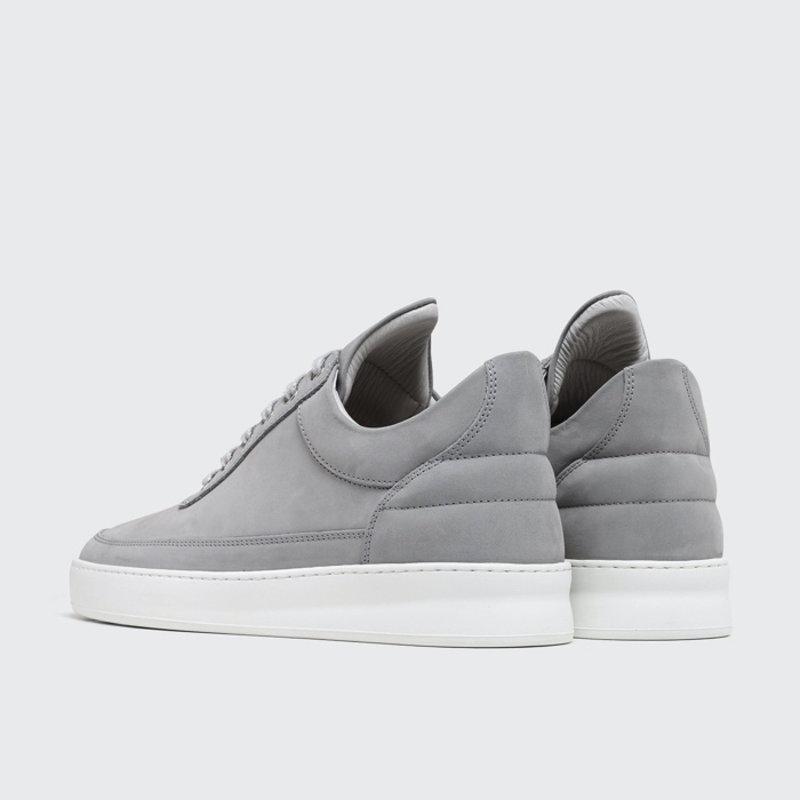 Low Top Plain Nubuck Grey