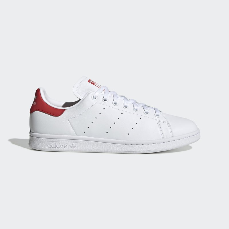 Stan Smith Wit / Rood