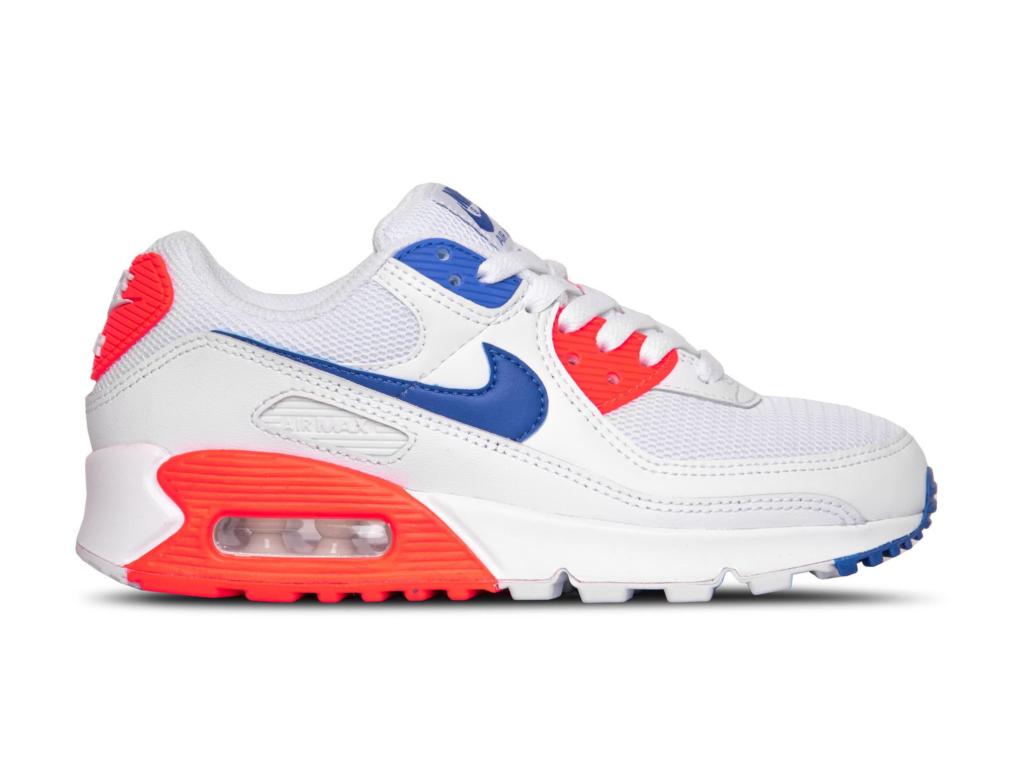 Nike W Air Max 90 Wit / Blauw