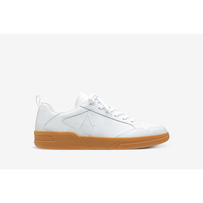 Visuklass Leather S-C18 Wit / Gum
