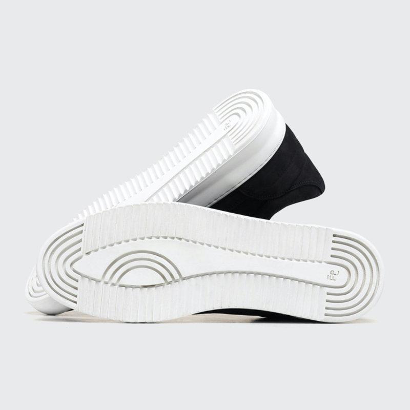 Low Top Ripple Basic Black / White