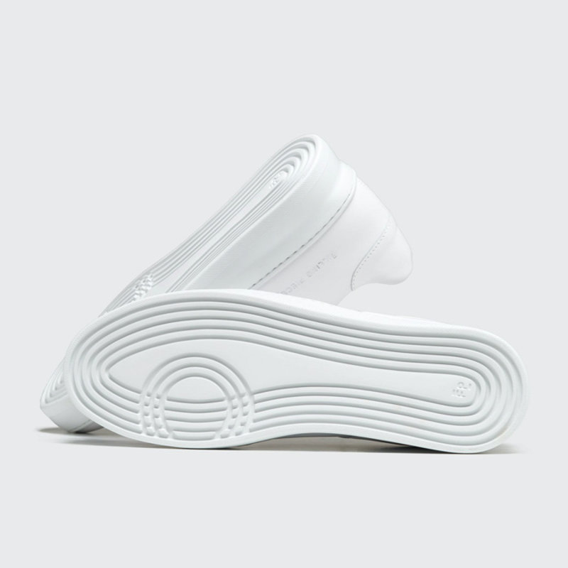 Low Plain Court All White