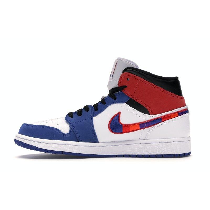 Jordan 1 Mid Multi-Color Swoosh