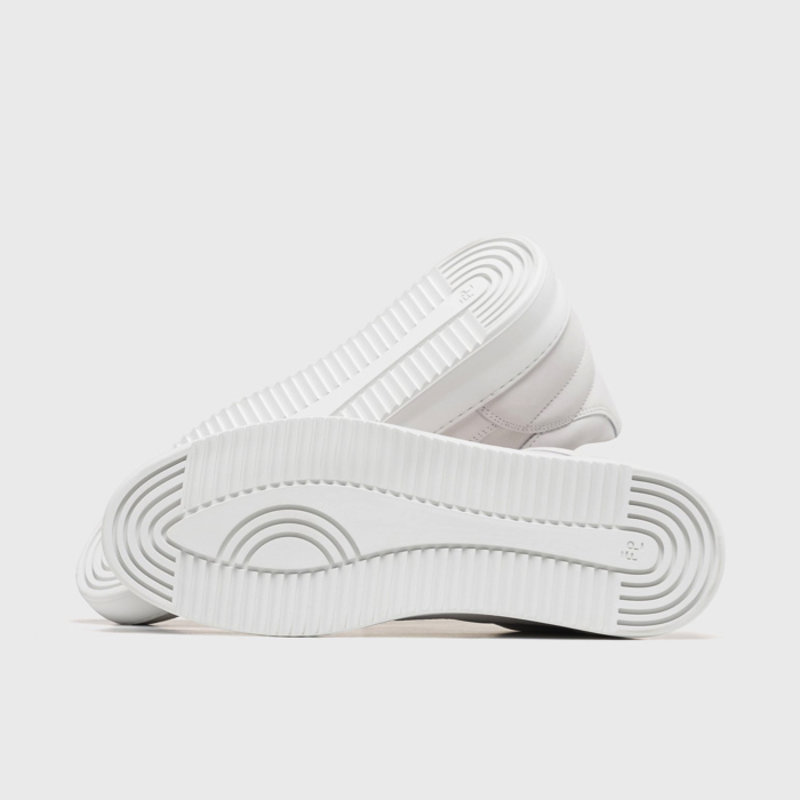 Low Top Ripple Basic All White