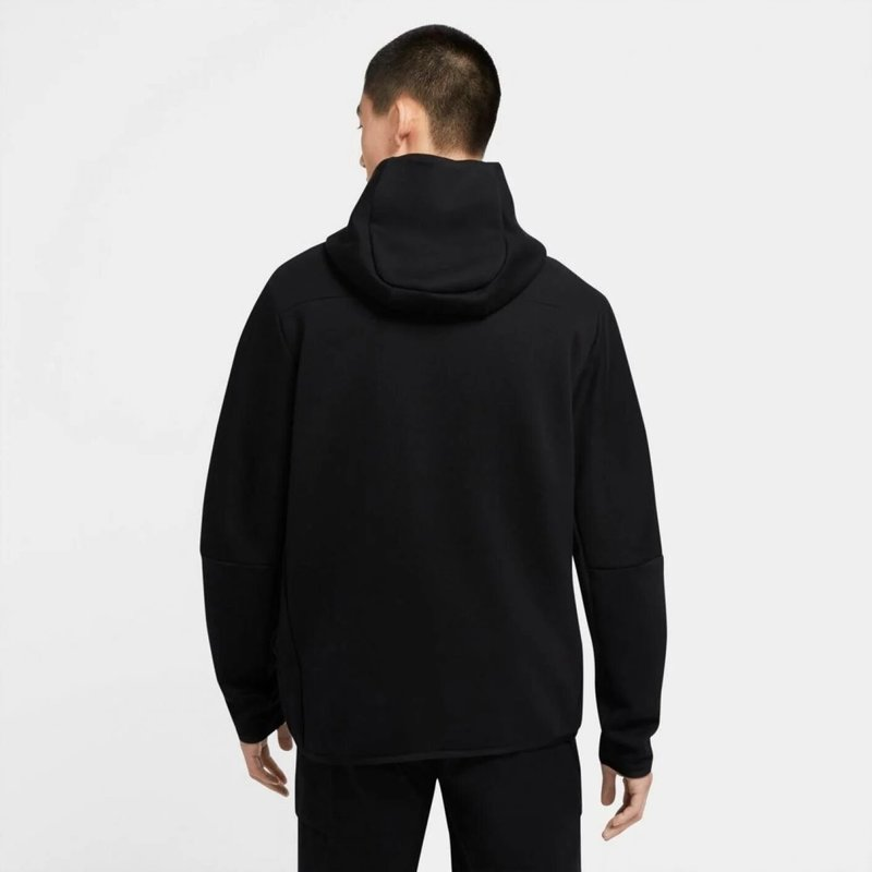 Tech Fleece Hoodie Full Zip Zwart