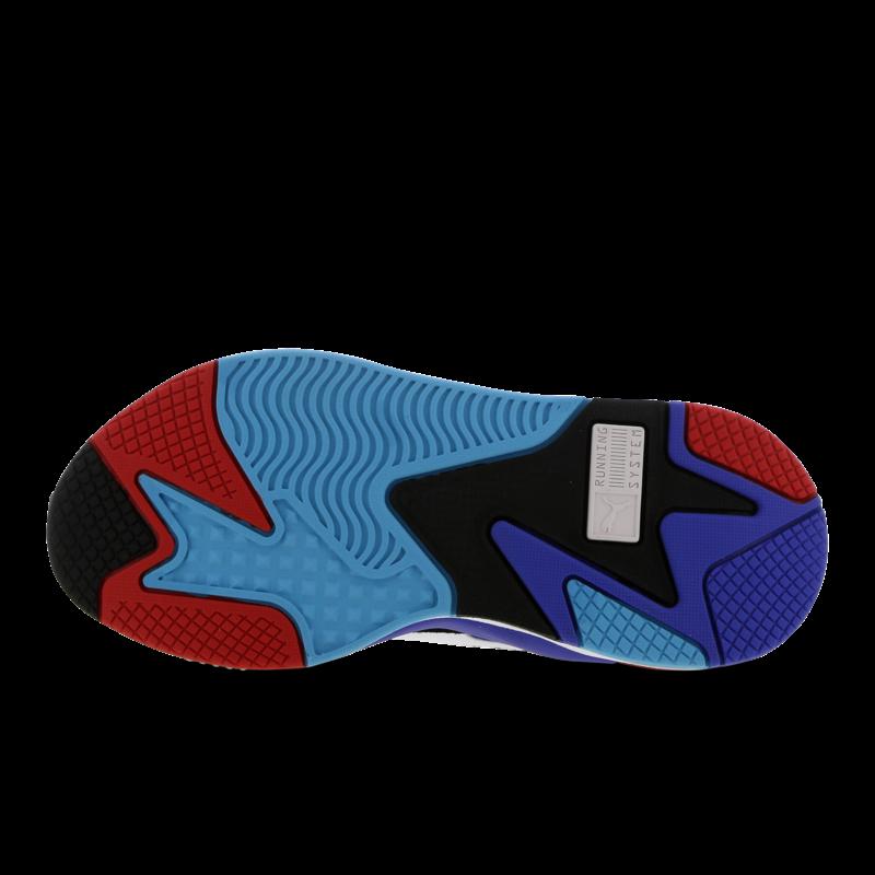 RS-X³ Puzzle Wit / Blauw