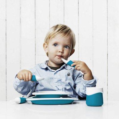 Toddler Copenhagen blauw bord