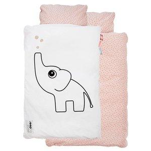 Done by Deer Bettdecke Bettbezug Set Elefant