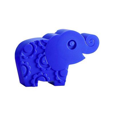 Blafre Design blauwe olifant lunchbox