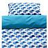 Blafre Design blauw dekbedovertrek baby olifant