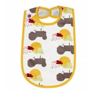 Blafre Design slabber yellow / gray tractor