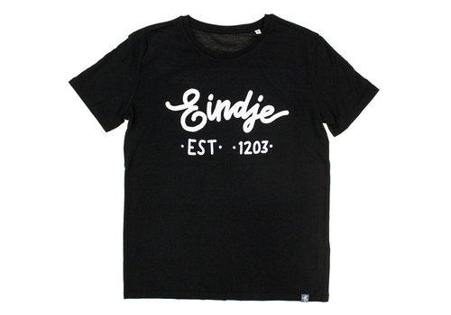 Eindje Eindje T-shirt Tekst Zwart