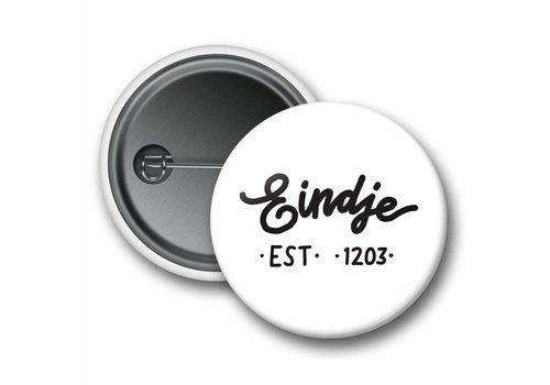 Eindje Eindje Button Logo White