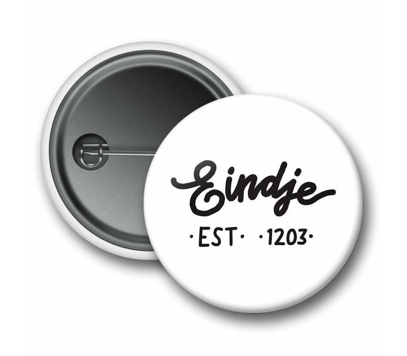 Eindje Button Logo White