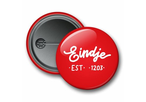 Eindje Eindje Button Logo Red
