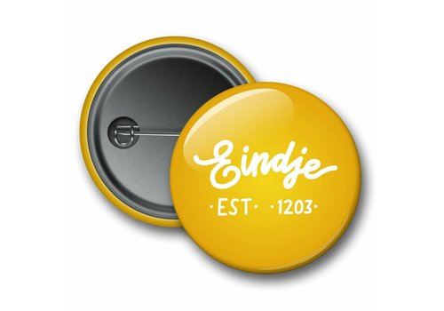 Eindje Eindje Button Logo Yellow