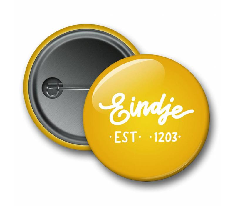 Eindje Button Logo Yellow