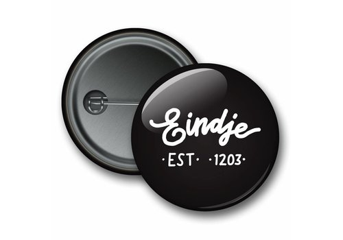 Eindje Eindje Button Logo Black