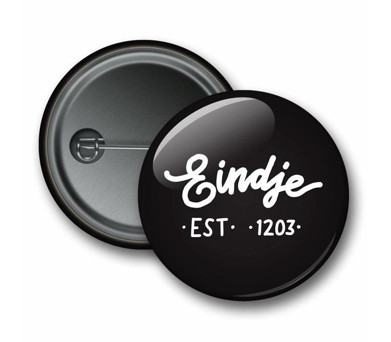 Eindje Button Logo Black