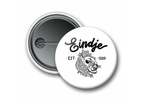 Eindje Eindje Lion Button White