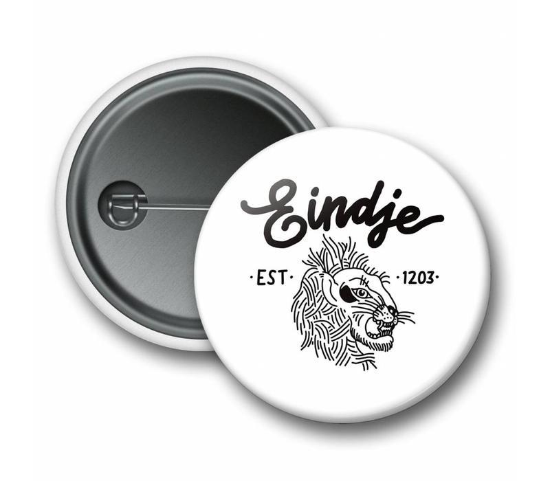 Eindje Lion Button White