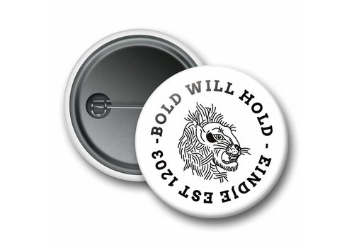 Eindje Eindje Button Bold Leeuw Wit