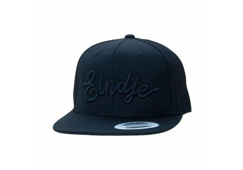 Eindje Eindje Snapback 3D Black Cap Black