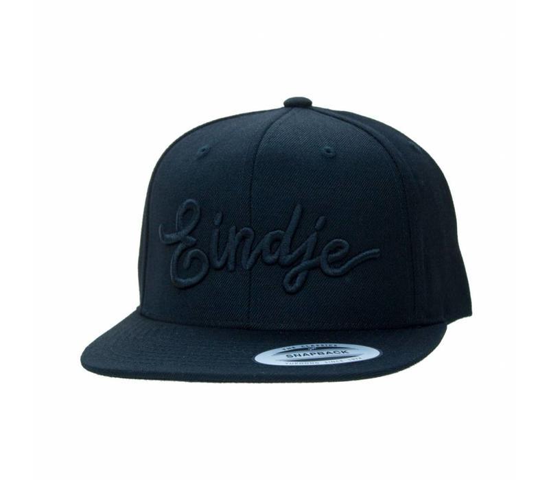 Eindje Snapback 3D Black Cap Black