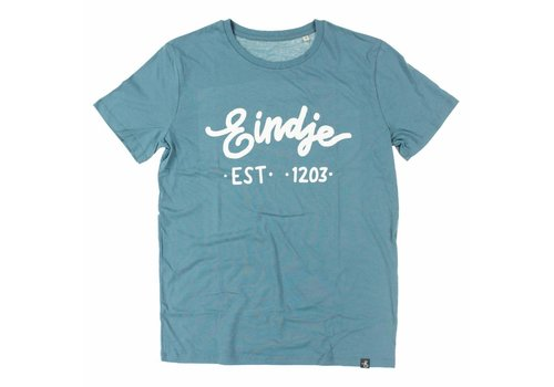 Eindje Eindje T-shirt Text Blue