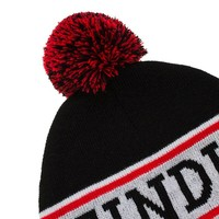 Eindje Vibe beanie with pompoms