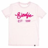 Eindje T-shirt Tekst Roze