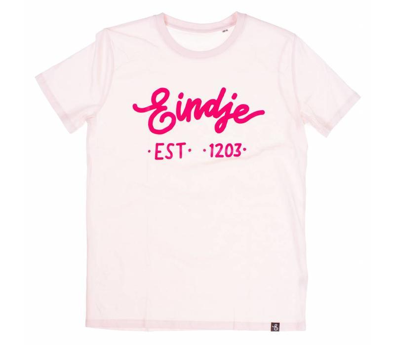 Eindje T-shirt Text Pink