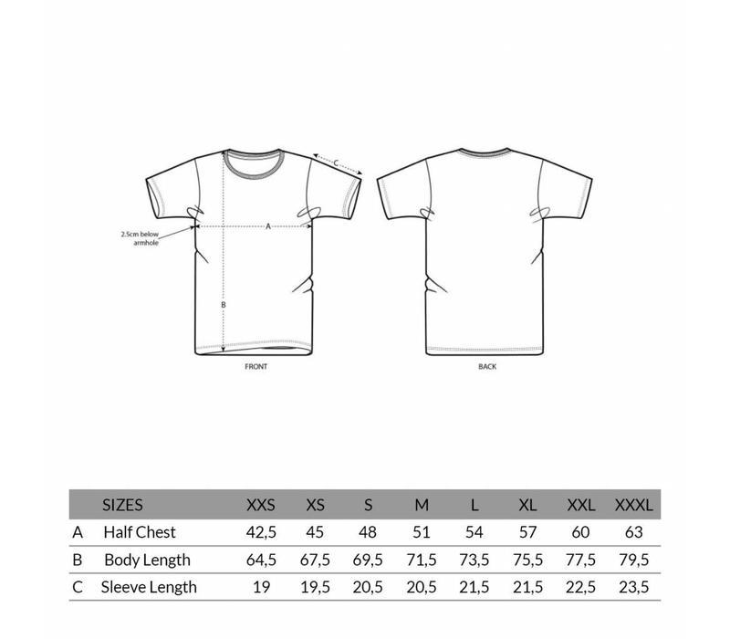 Eindje T-shirt Tekst Wit