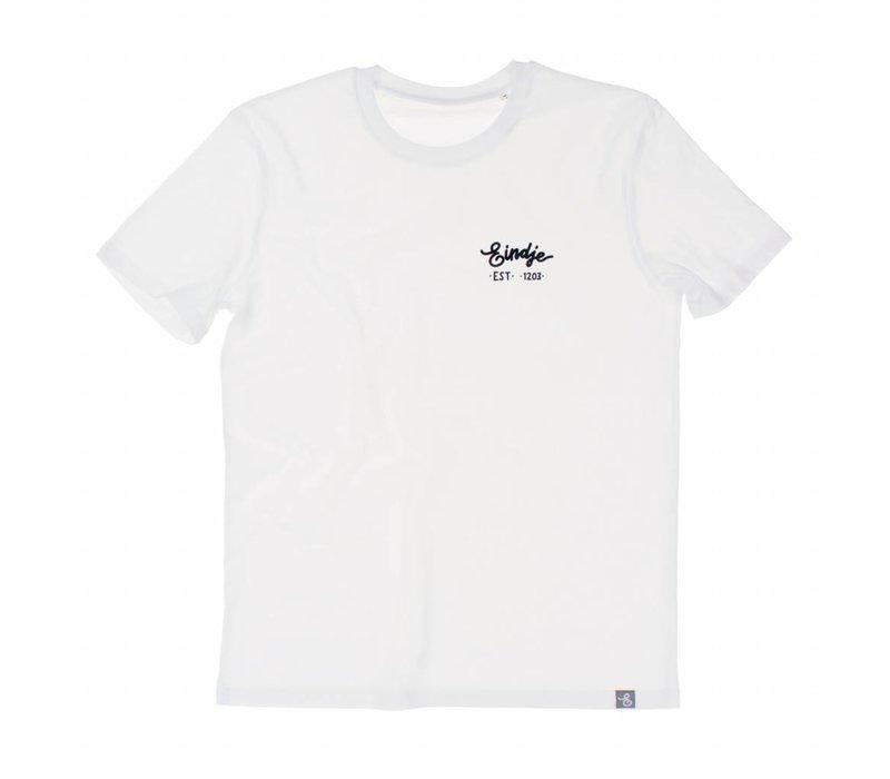 Eindje HD Logo T-shirt White
