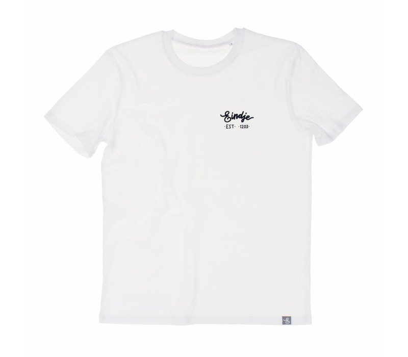 Eindje HD Logo T-shirt Wit