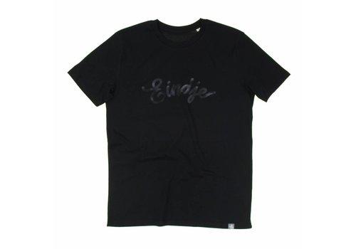 Eindje Eindje HD Logo T-shirt Zwart