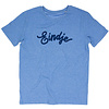Eindje Eindje T-shirt Text Mid Heather Blue