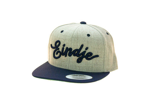 Eindje Eindje Snapback 3D Navy Cap Heather Grey / Navy