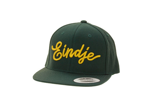 Eindje Eindje Snapback 3D Golden Yellow Cap Bottle Green