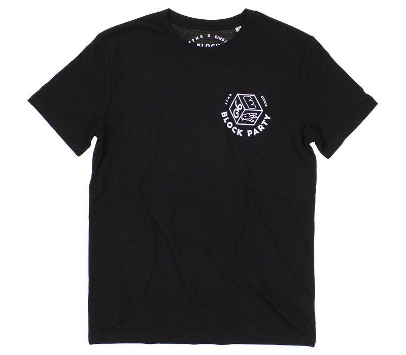 Eindje X Effenaar Block Party Crewneck T-shirt Black